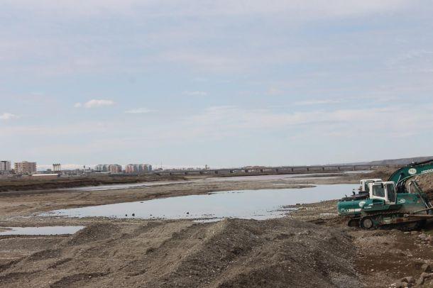 Dicle Nehri'ni ıslah çalışmalarına başlandı