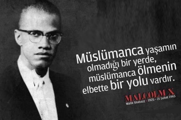 Malcolm X`in Oxford`daki meşhur konuşması