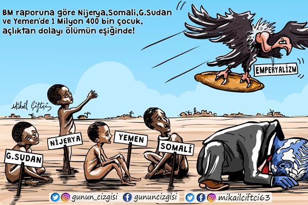Afrika açlığın pençesinde