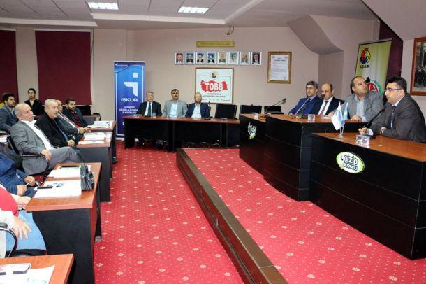 Gaziantep`te İstihdam Seferberliği toplantısı