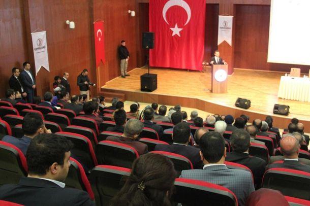 Diyarbakır`da `Yeni Patent ve Marka Kanunu` toplantısı yapıldı
