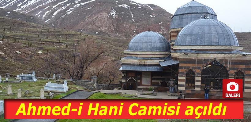 Restore edilen Ahmed-i Hani Camisi açıldı