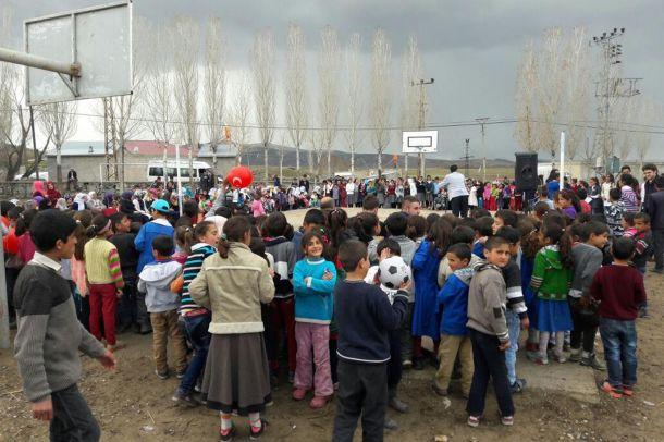 Kumluca köyünde Kutlu Doğum etkinliği düzenlendi