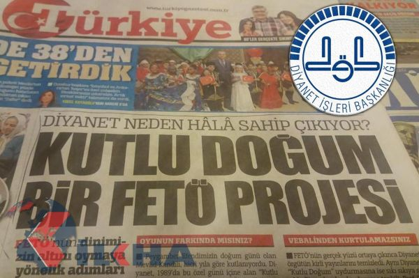 Strong reaction from the Directorate of Religious Affairs to the Turkiye Newspaper