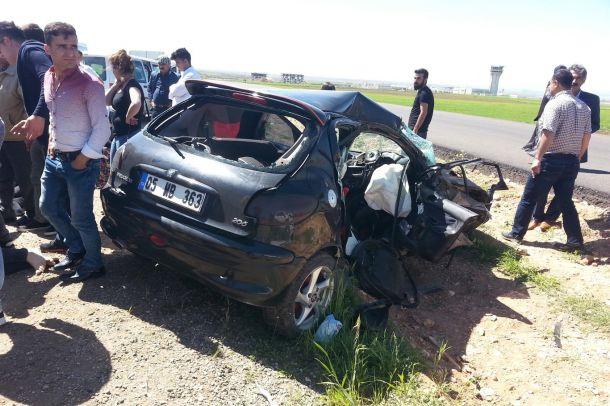 Şırnak`ta kaza: 4 yaralı