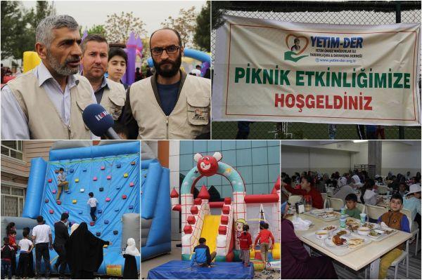 Yetim-Der brings hundreds of orphans together in picnic