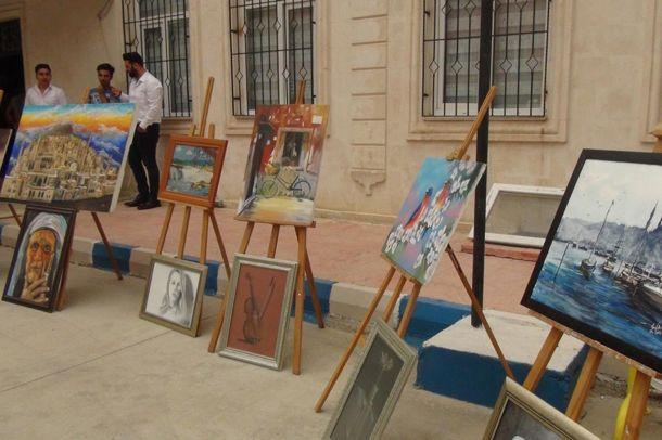 Nusaybin Halk Eğitim Merkezinde yıl sonu sergisi