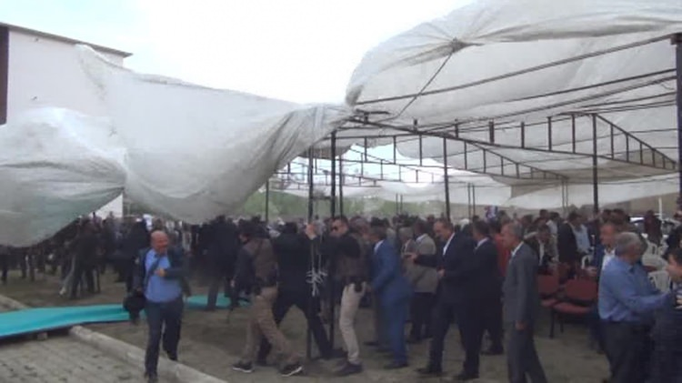 HÜDA PAR'dan Kâhta'da bayramlaşma etkinliği