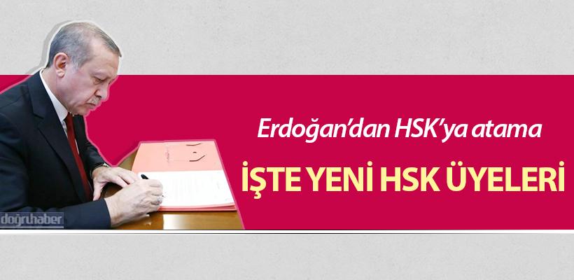 Erdoğan'dan HSK'ya atama!
