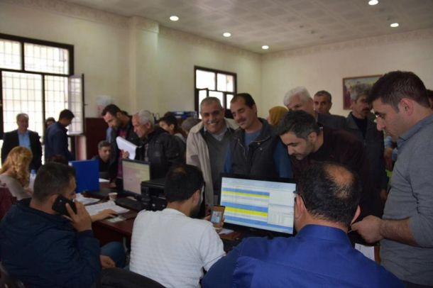 Evleri hasar gören Nusaybinlilere kira bedeli yardımı başladı
