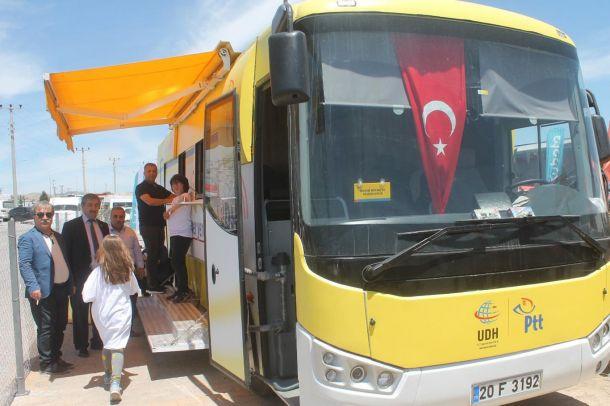 PTT Mobil aracı Mardin'de hizmete girdi