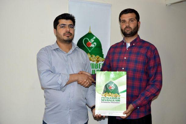 Şiir ve makale yarışmasında dereceye girenlere ödülleri verildi