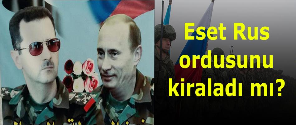 Eset Rus ordusunu kiraladı mı?