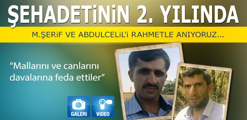 Muhammed Şerif ve Abdulcelil`in katledilişinin üzerinden 2 yıl geçti