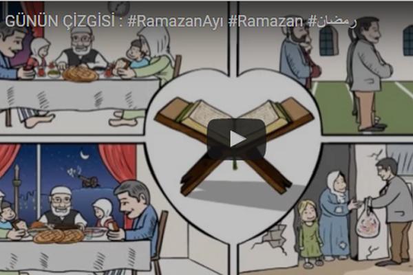 GÜNÜN ÇİZGİSİ : #RamazanAyı #Ramazan #رمضان