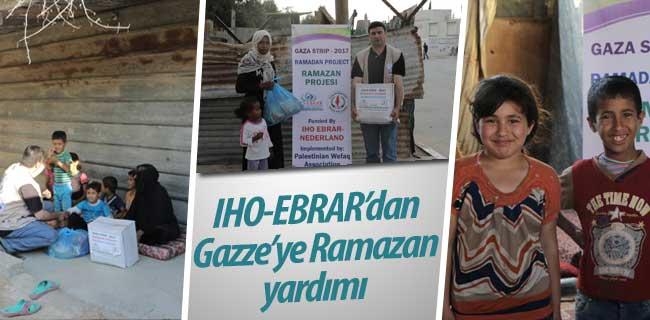 IHO-EBRAR Gazze'ye Ramazan yardımı ulaştırdı