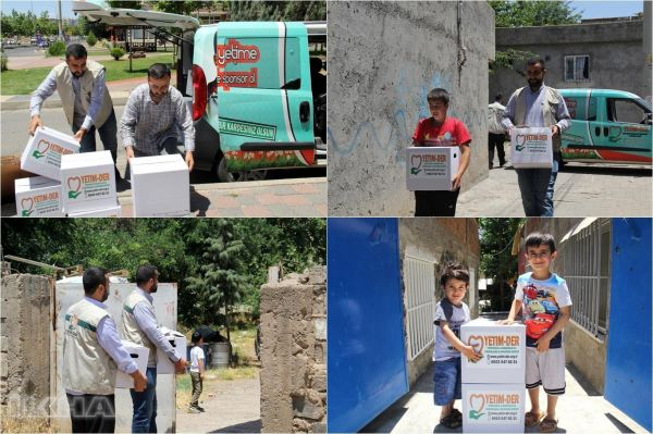 Ramadan aid to needy families from Orphan Association