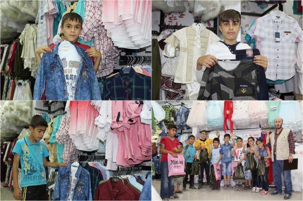IHO EBRAR Elazığ'da çocukları giydirdi