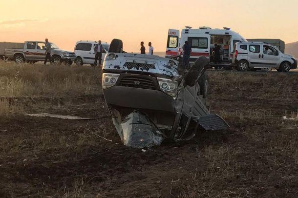 Nusaybin'de trafik kazası: Bir ölü, bir yaralı
