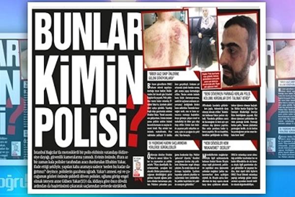 İSTANBUL`DA POLİS ŞİDDETİ