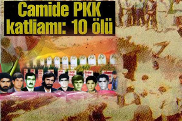 PKK`nin kanlı tarihindeki cami katliamı Susa