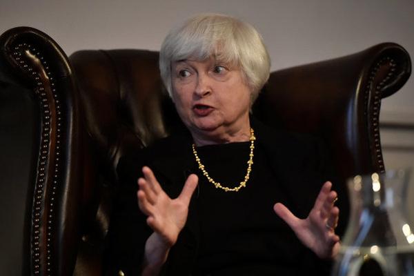 Fed başkanı kriz beklemiyor