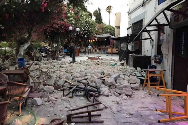 Kos Adasındaki depremde 1`i Türkiyeli 2 kişi öldü