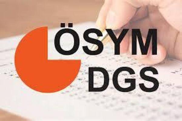 DGS yarın gerçekleşecek