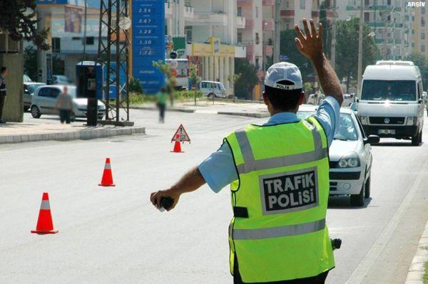 Türkiye genelinde eş zamanlı trafik kontrolü