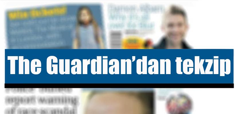 The Guardian`dan `Erdoğan da yazmak istedi` iddiasına tekzip