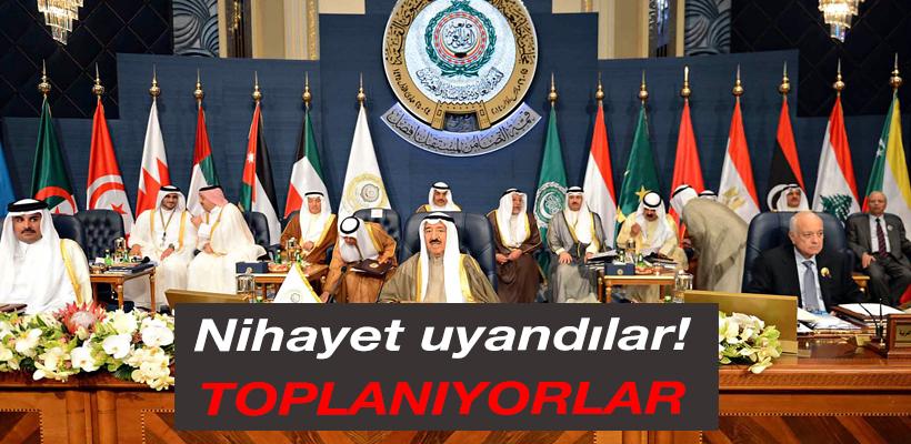 Arap Birliği nihayet uyandı! Toplanıyor