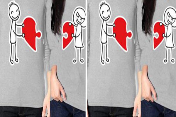Uyumlu Çiftlere Sevgili Tişörtleri