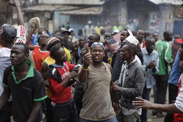 Kenya'da seçim sonuçlarının açıklamasından sonra 24 kişi öldü