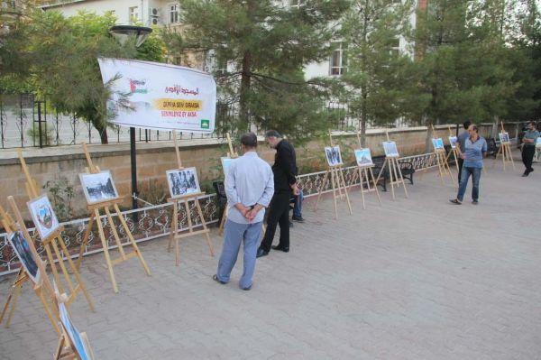 Midyat'ta 'Kudüs' temalı resim sergisi açıldı