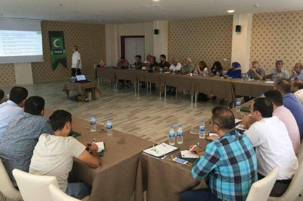 Yeşilay bölge toplantısını Diyarbakır'da yaptı