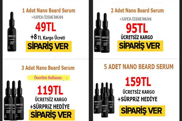 Erkekler İçin Nano Beard Ürünü Faydaları