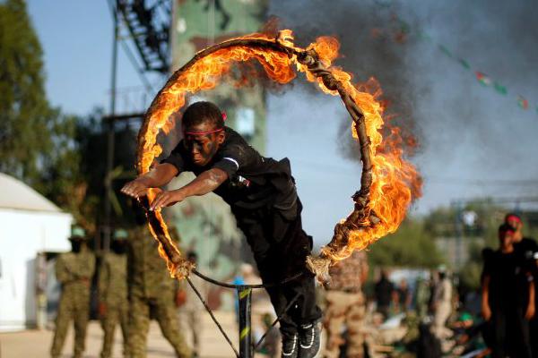 Gazze`de Hamas`ın gençlik kampı