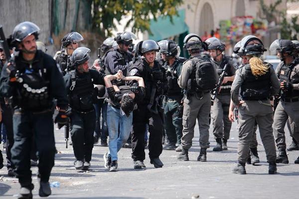 İşgal polisi ağustosta 522 Filistinliyi gözaltına aldı