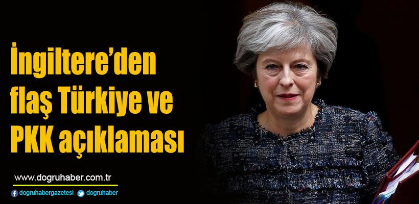 İngiltere`den flaş Türkiye ve PKK açıklaması