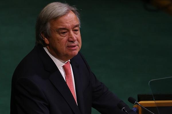 BM Genel Sekreterinden Filistin'e 'uzlaşı tebriği'