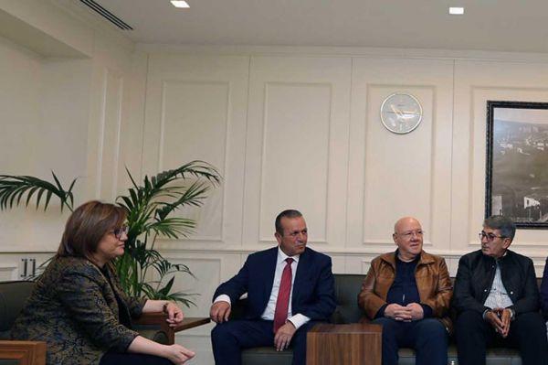 KKTC Turizm ve Çevre Bakanı Gaziantep'te