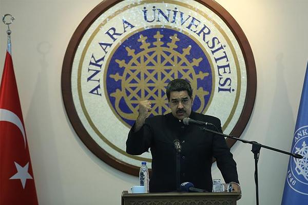 Venezuela Devlet Başkanı Maduro: Dünya yeni bir dengeye kavuşacak