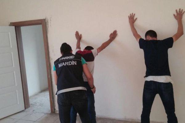 Mardin'de uyuşturucu operasyonu: 6 gözaltı