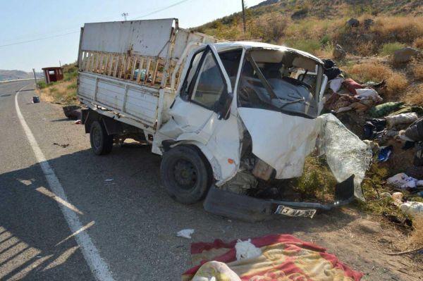 Yayla dönüşü kaza: 2 ölü 5 yaralı