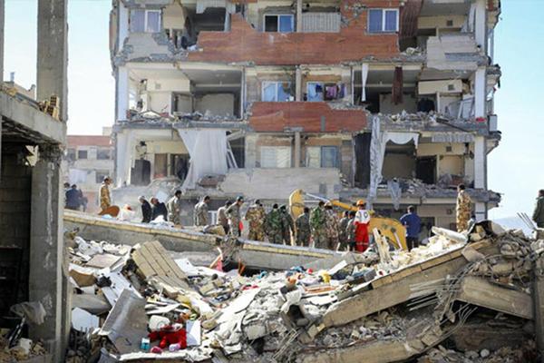 Kirmanşah'ta arama kurtarma çalışmaları sona erdi
