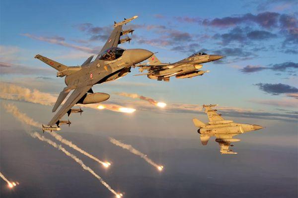Zap bölgesine hava harekatı: 5 PKK'li öldürüldü