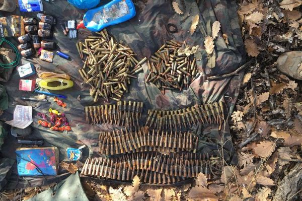 Tunceli'de silah ve mühimmat ele geçirildi