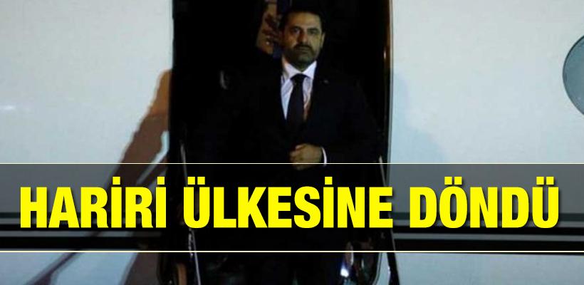Lübnan Başbakanı Hariri nihayet!