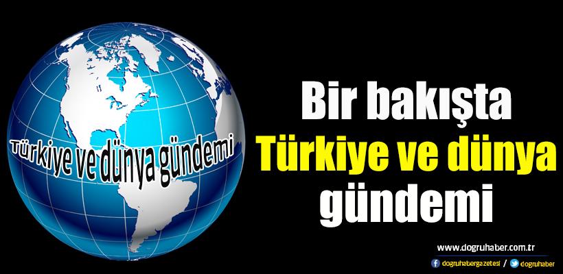 Türkiye ve dünya gündemi: 20. 01. 2018