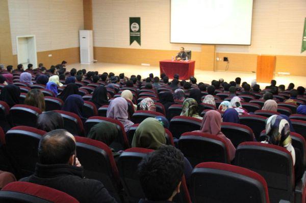 DÜ'de Selman-ı Farisî konferansı düzenlendi